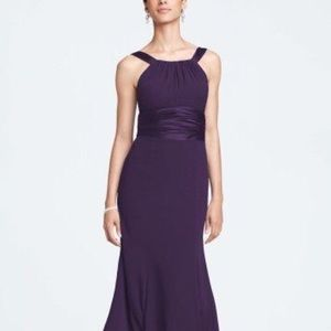 Full length bridesmaids/prom/formal dress.